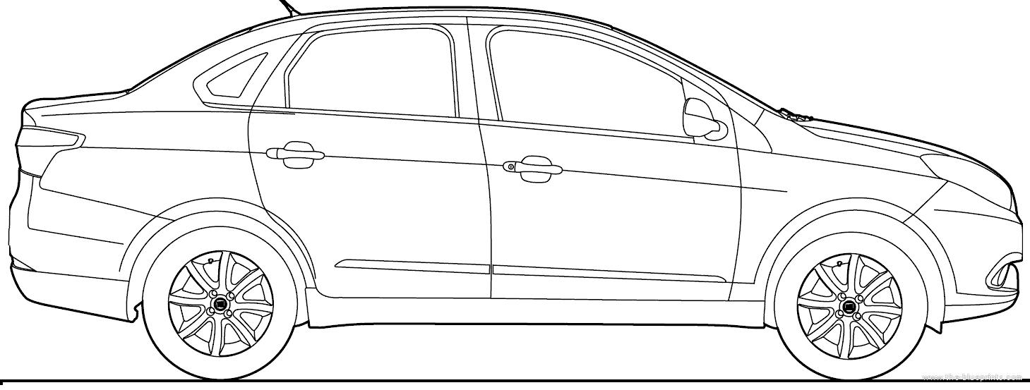 Blueprints > Cars > Fiat > Fiat Grand Siena (2016)