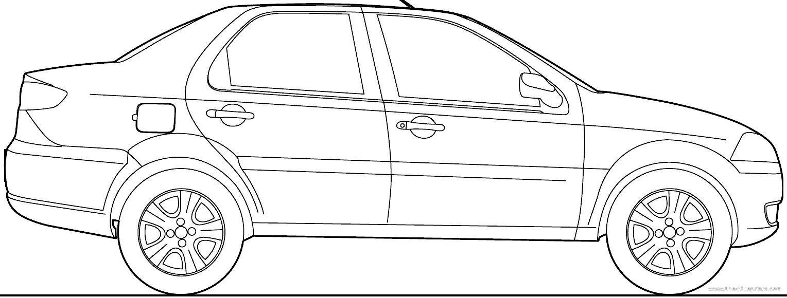 Blueprints > Cars > Fiat > Fiat Siena (2010)