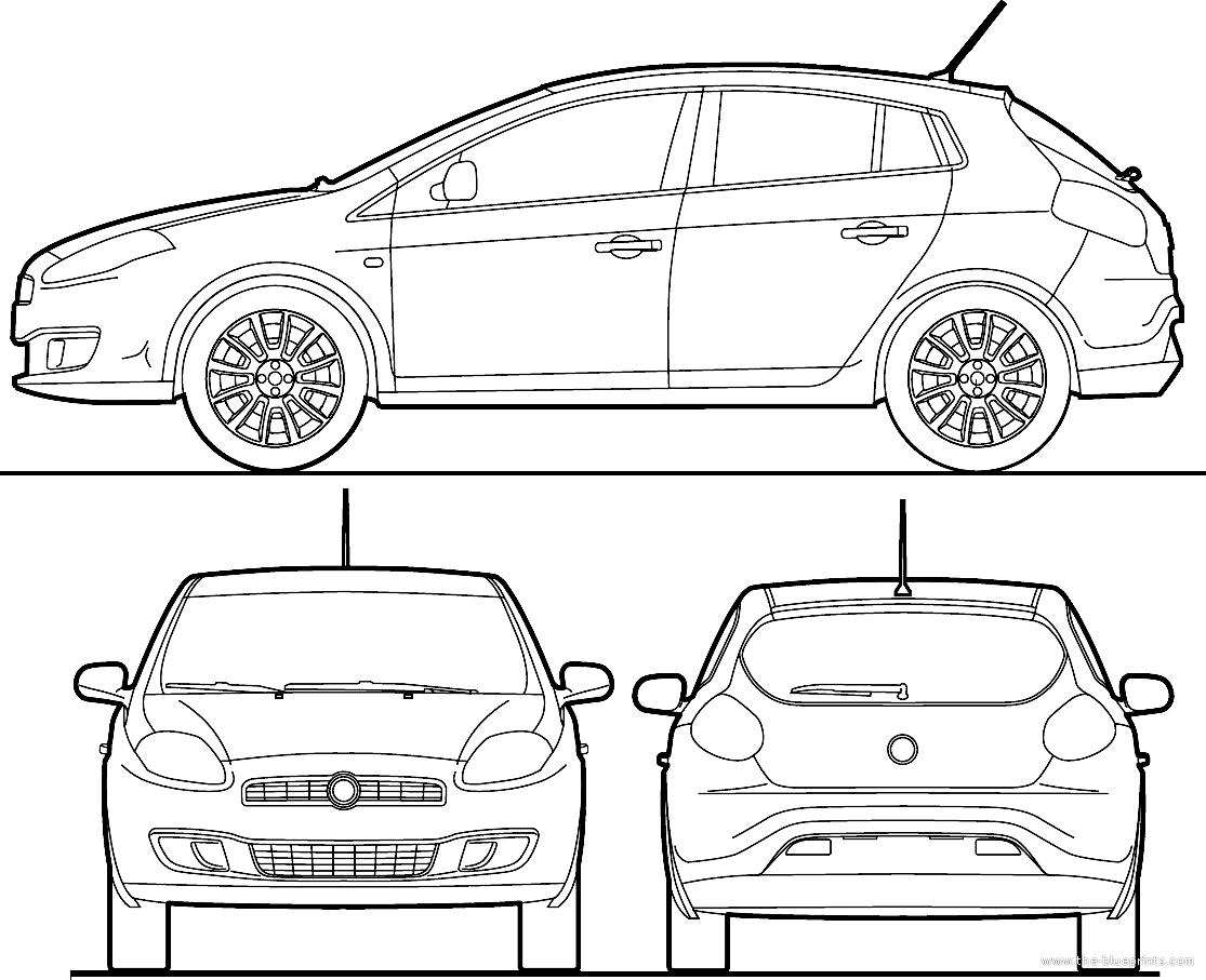 Blueprints > Cars > Fiat > Fiat Brava (2010)