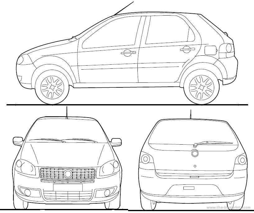 Blueprints > Cars > Fiat > Fiat Palio BR (2012)