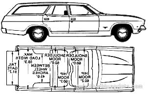 Blueprints > Cars > Ford > Ford Falcon XB Estate (AUS) (1975)