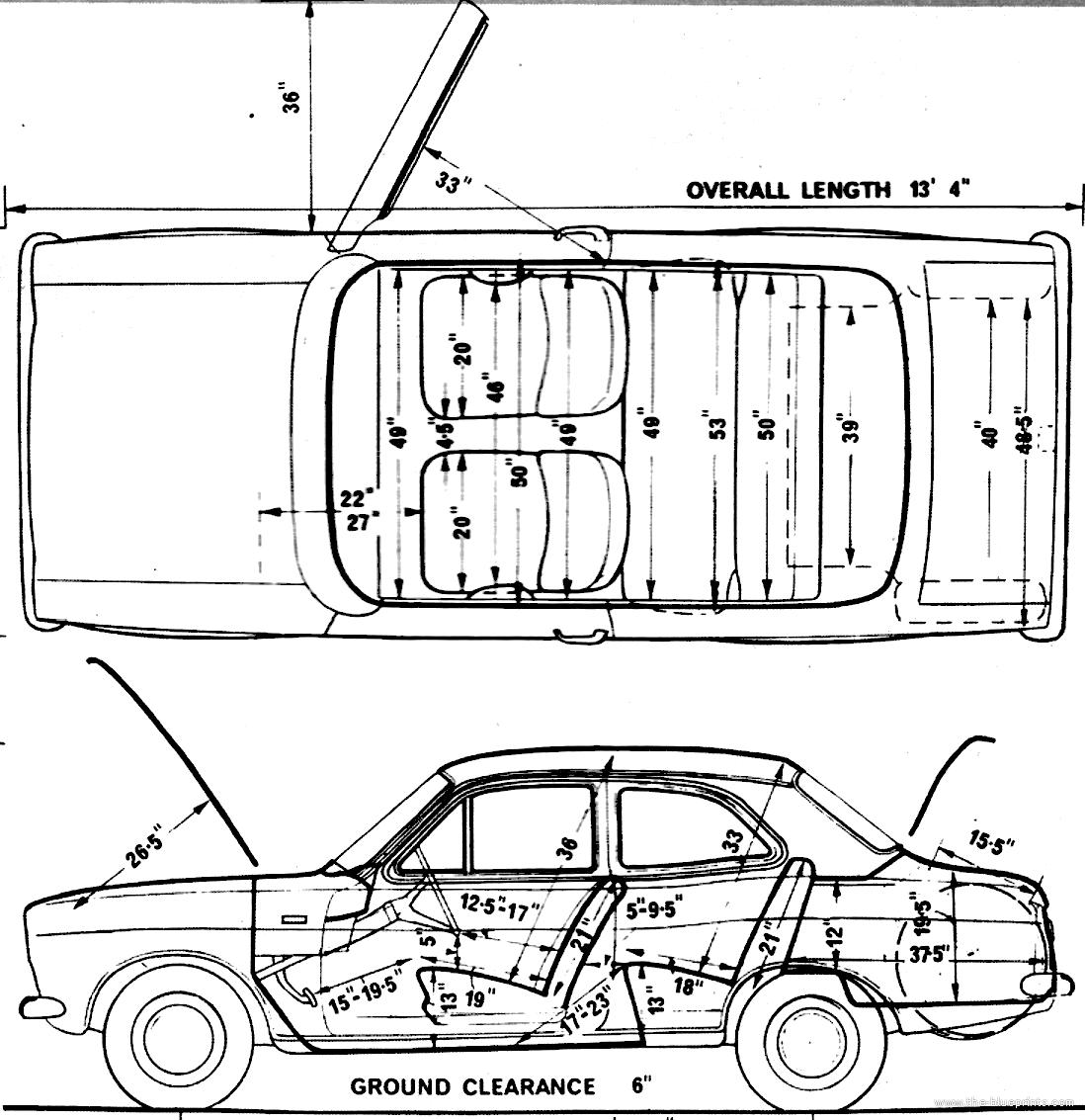 Blueprints > Cars > Ford > Ford Escort Mk.I 2-Door 1300