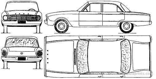 1961 ford falcon cars