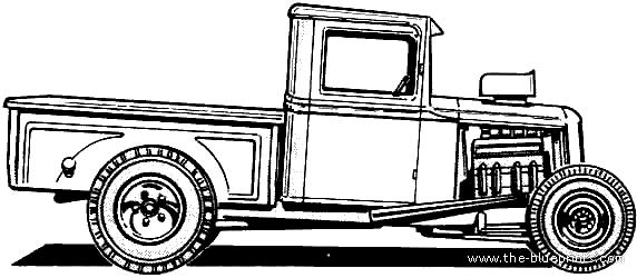 1934 Ford blueprints