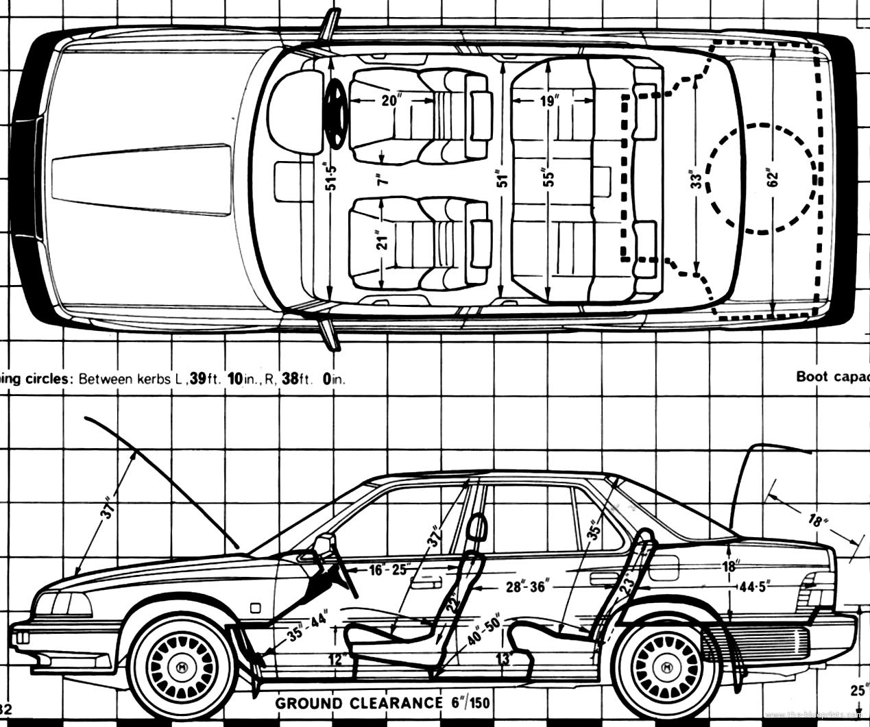 Blueprints > Cars > Honda > Honda Legend (1988)