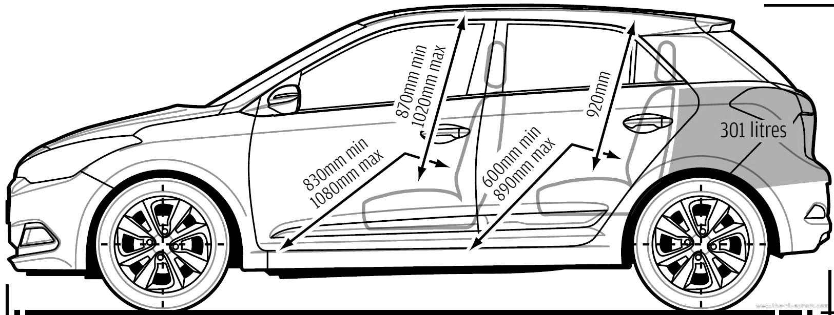 Blueprints > Cars > Hyundai > Hyundai i20 (2014)