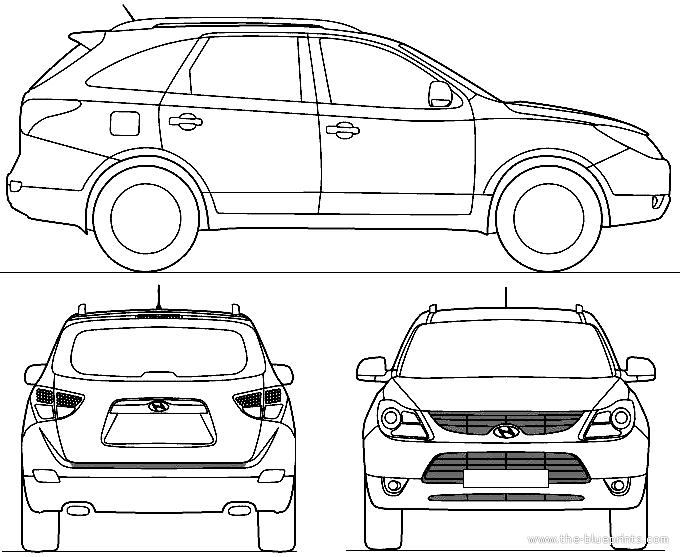 Hyundai Veracruz Fuse Panel Diagram, Hyundai, Free Engine