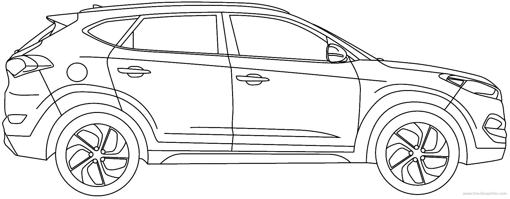 Blueprints > Cars > Hyundai > Hyundai Tucson (2016)