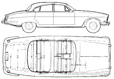 Blueprints > Cars > Jaguar > Jaguar Mark X 4.2 litre