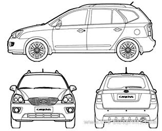Blueprints > Cars > Kia > Kia Carens (2012)