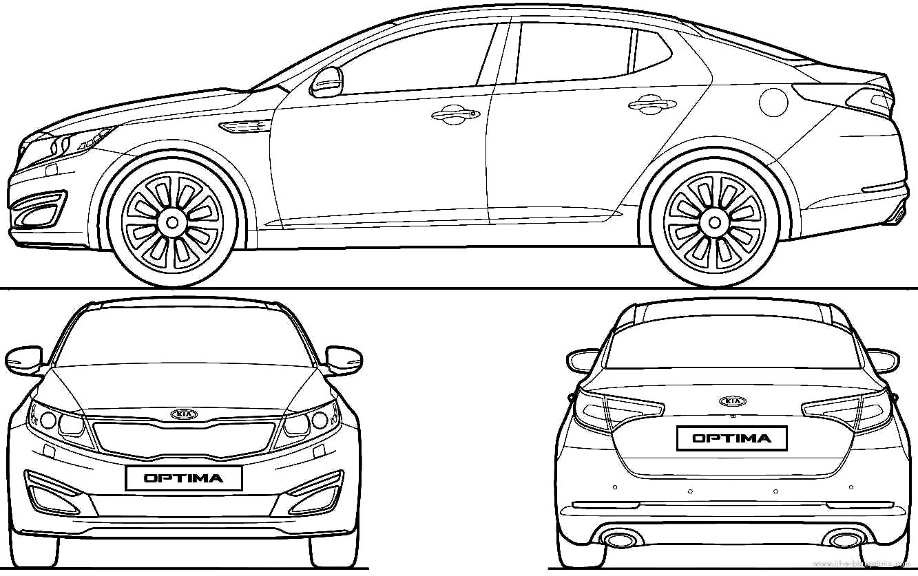 Car body damage diagram
