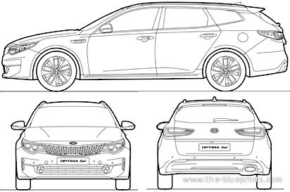 Blueprints > Cars > Kia > Kia Optima Sportswagon (2016)