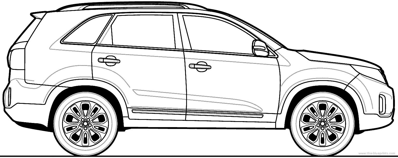 Blueprints > Cars > Kia > Kia Sorento (2013)