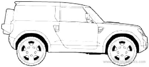Blueprints > Cars > Land Rover > Land Rover Defender