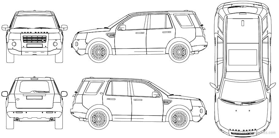 land rover width