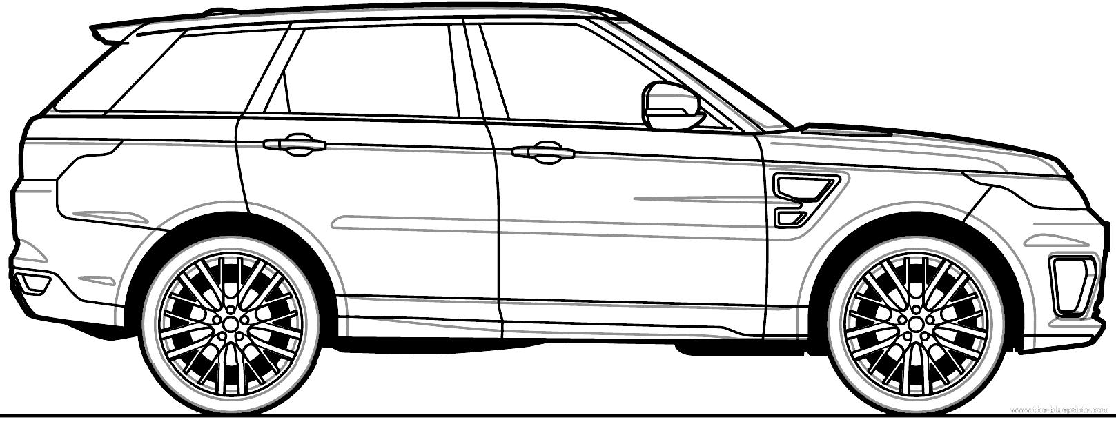 Blueprints > Cars > Land Rover > Land Rover Range Rover