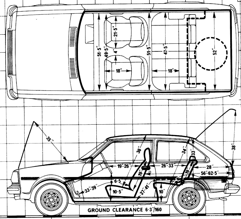 Blueprints > Cars > Mazda > Mazda 323 1.4 SP (1979)
