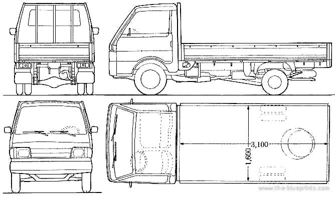 Blueprints Mazda Rx3 Savanna Gt 3dcar