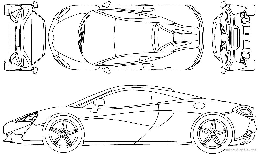 Blueprints > Cars > McLaren > McLaren 570S (2016)