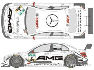Blueprints > Cars > Mercedes-Benz > Mercedes-Benz AMG C
