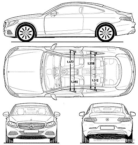 Blueprints > Cars > Mercedes-Benz > Mercedes-Benz C-Class