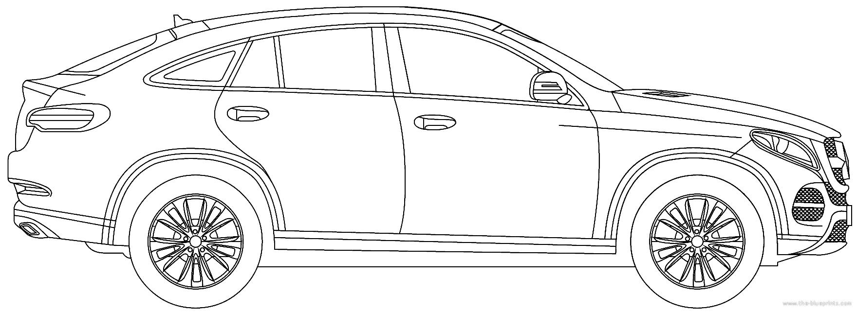 Blueprints > Cars > Mercedes-Benz > Mercedes-Benz GLC