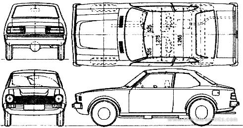Blueprints > Cars > Mitsubishi > Mitsubishi Colt Lancer 2