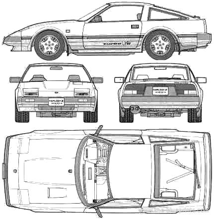 Nissan 300ZX 2+2 (1988)