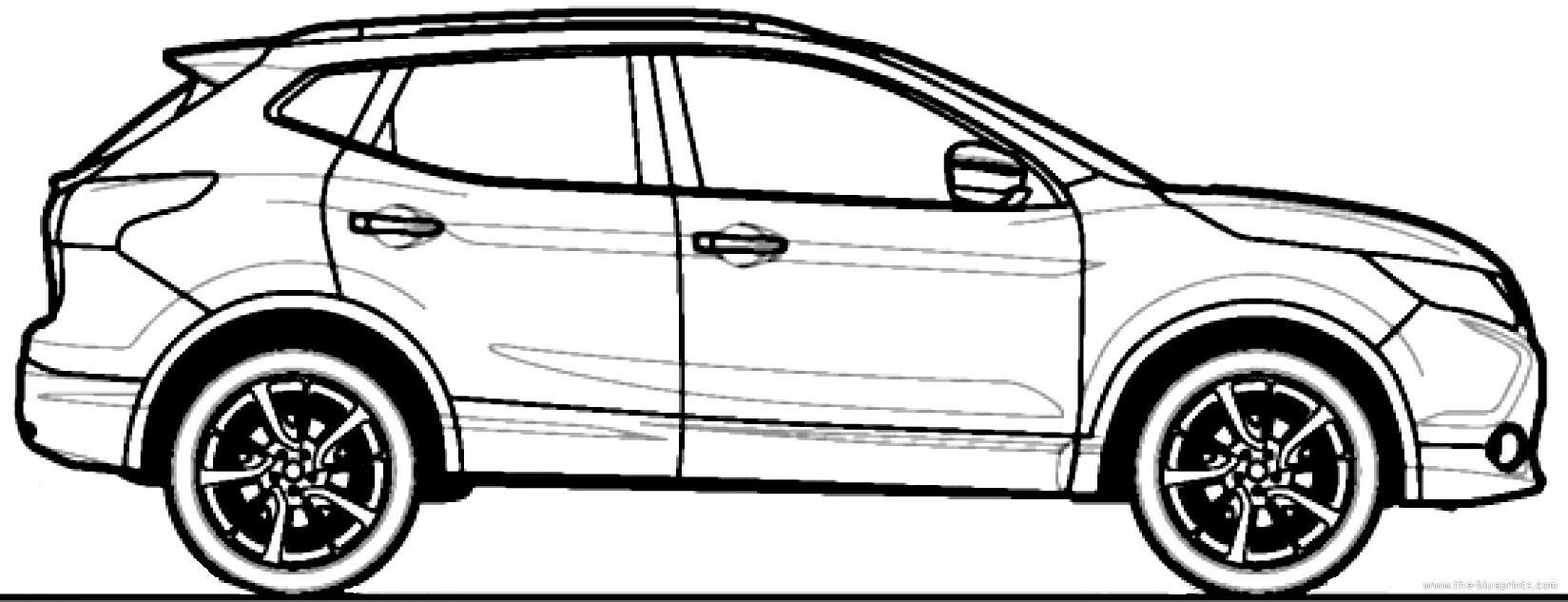 Qashqai Dimensions The Blueprints Cars Nissan Nissan