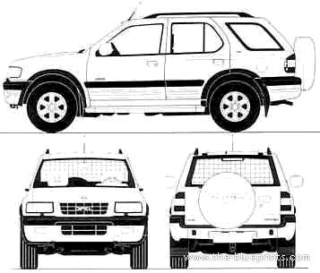 Opel Frontera 5-Door (1995)