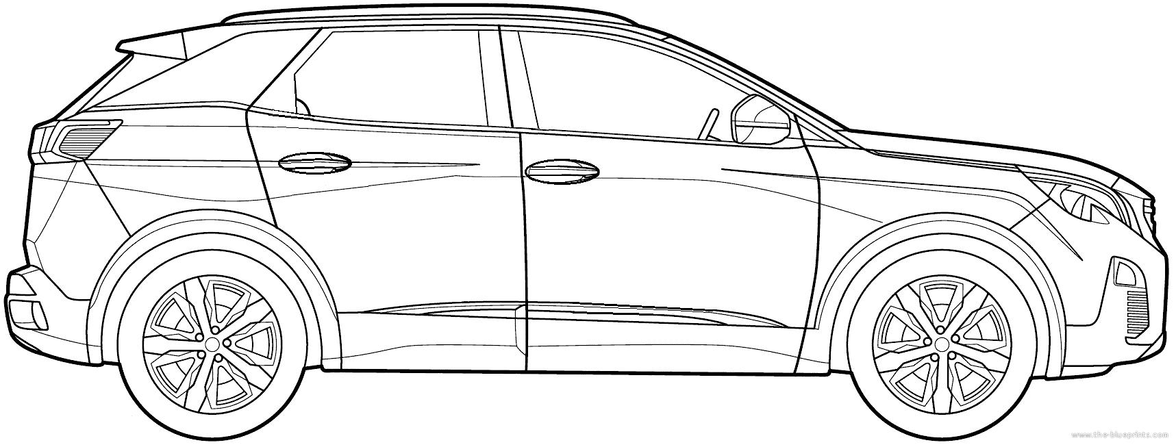 Dimension Peugeot 3008. peugeot 3008 hybrid4 dimensions