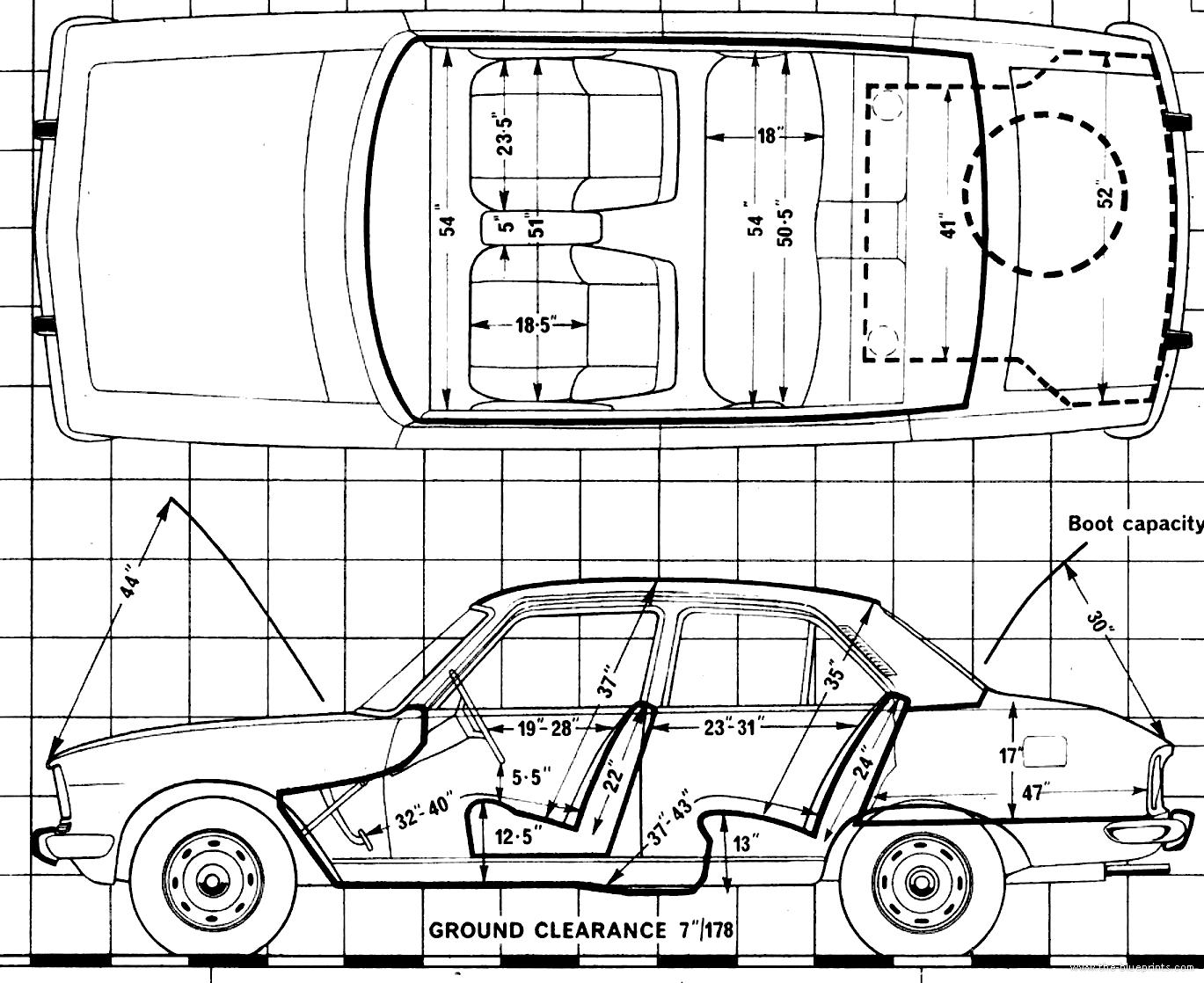 Blueprints > Cars > Peugeot > Peugeot 504 L (1979)