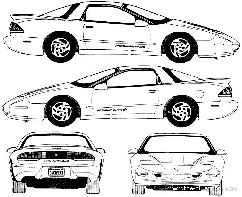 Blueprints > Cars > Pontiac > Pontiac Firebird Formula V8