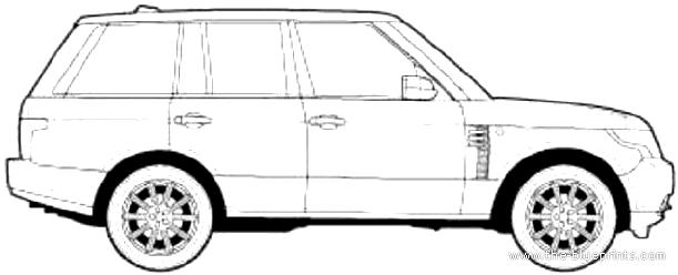 Blueprints > Cars > Range Rover > Range Rover SE (2013)
