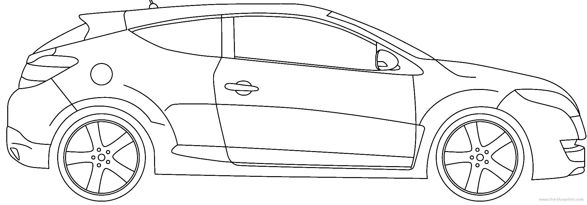Blueprints > Cars > Renault > Renault Megane RS Trophy R