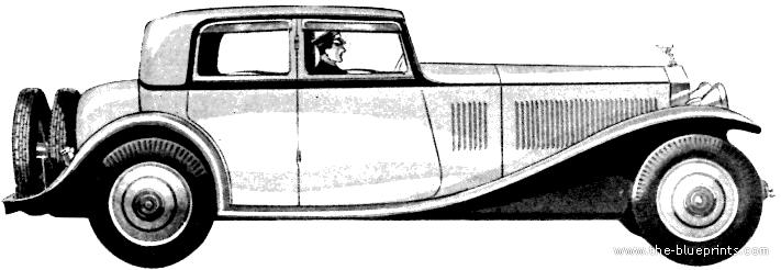 Blueprints > Cars > Rolls-Royce > Rolls-Royce Phantom II