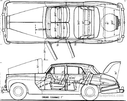 Blueprints > Cars > Rolls-Royce > Rolls-Royce Silver Cloud