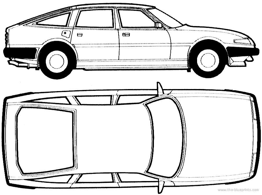 Blueprints > Cars > Rover > Rover SD1 (1986)