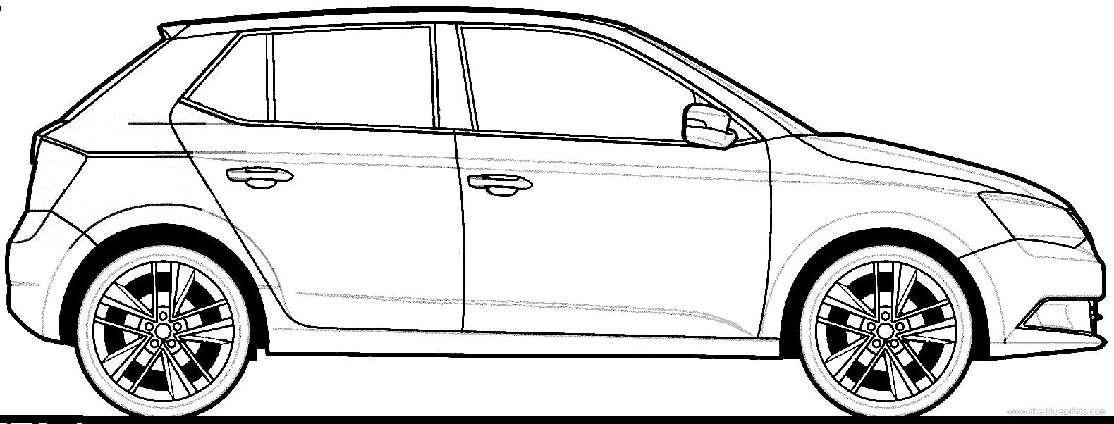 Blueprints > Cars > Skoda > Skoda Fabia 1.2 TSi (2015)
