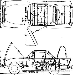 Blueprints > Cars > Sunbeam > Sunbeam Alpine GT Series 3