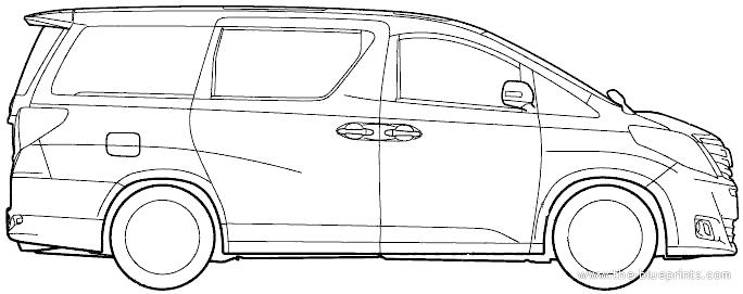 Blueprints > Cars > Toyota > Toyota Alphard (2012)