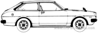 Blueprints > Cars > Toyota > Toyota Corolla Sprinter