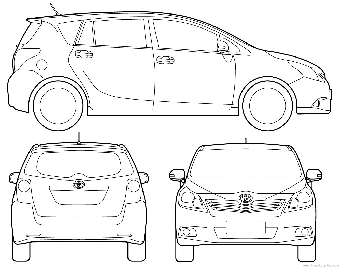 Blueprints > Cars > Toyota > Toyota EZ (2015)