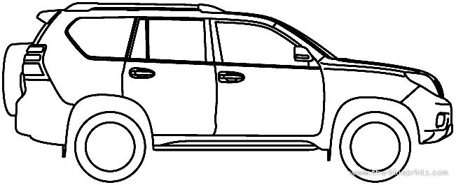 Toyota prado dimensions 2012