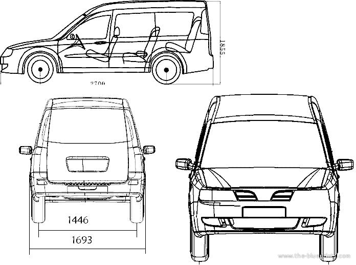 Blueprints > Cars > Various Cars > Chery Karry (2014)