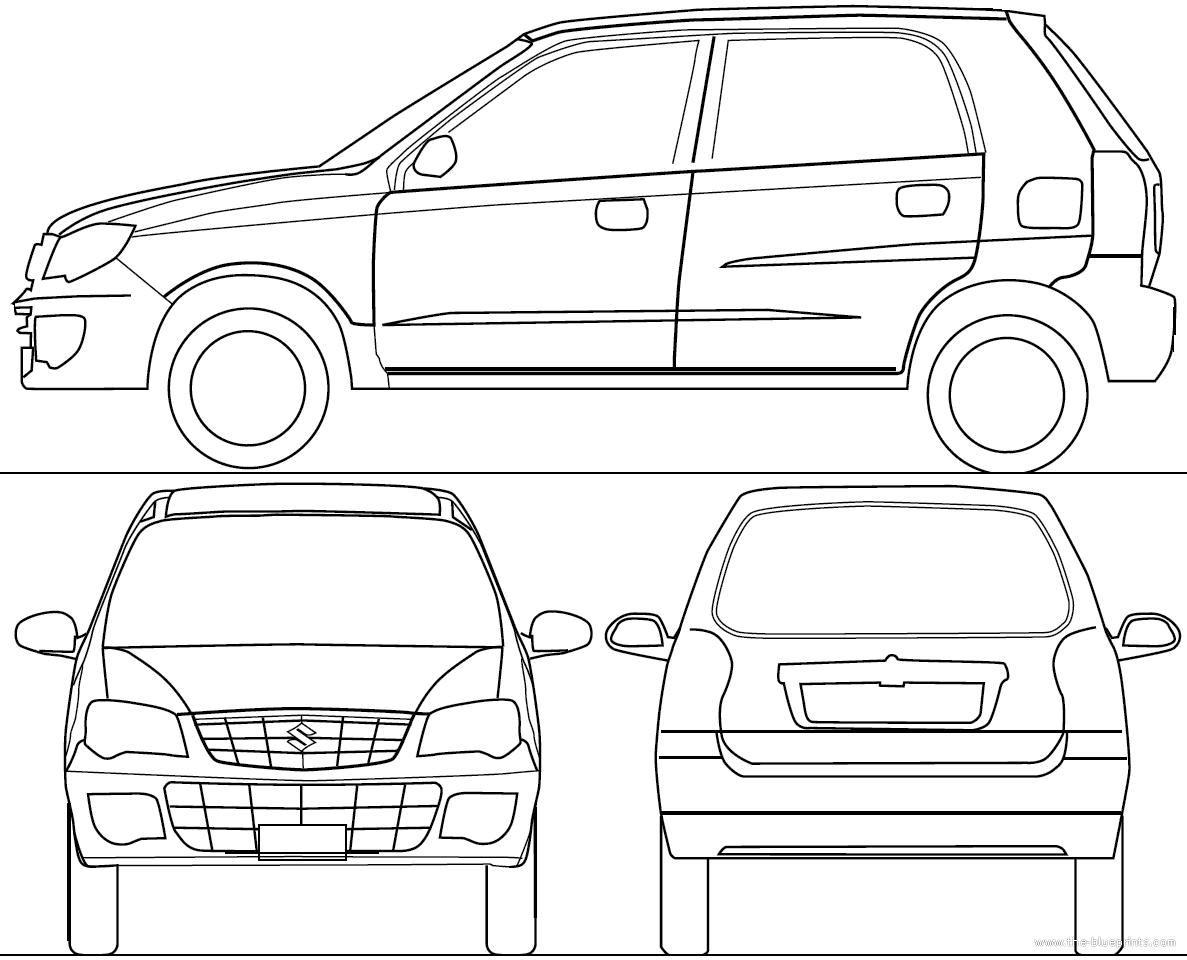 Blueprints > Cars > Various Cars > Maruti Suzuki Alto K10
