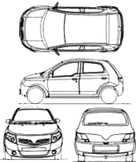 Blueprints > Cars > Various Cars > Proton Savvy (2010)