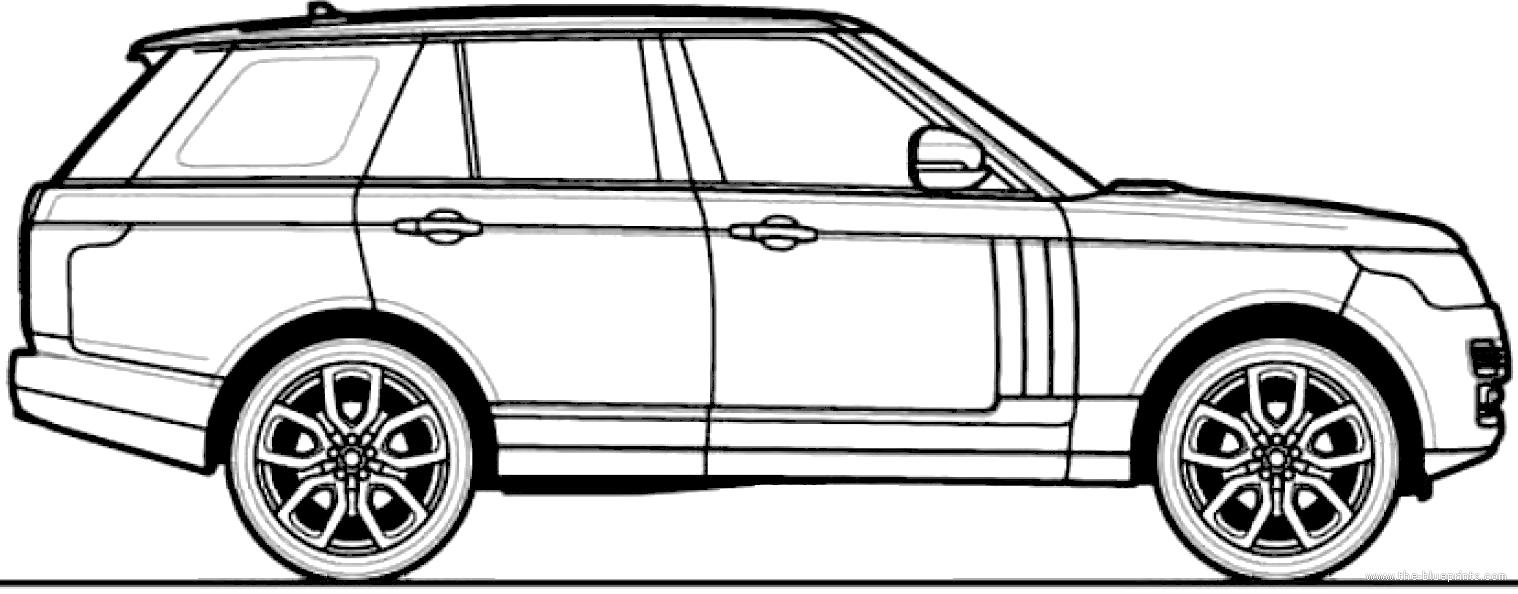 Blueprints > Cars > Various Cars > Range Rover (2013)