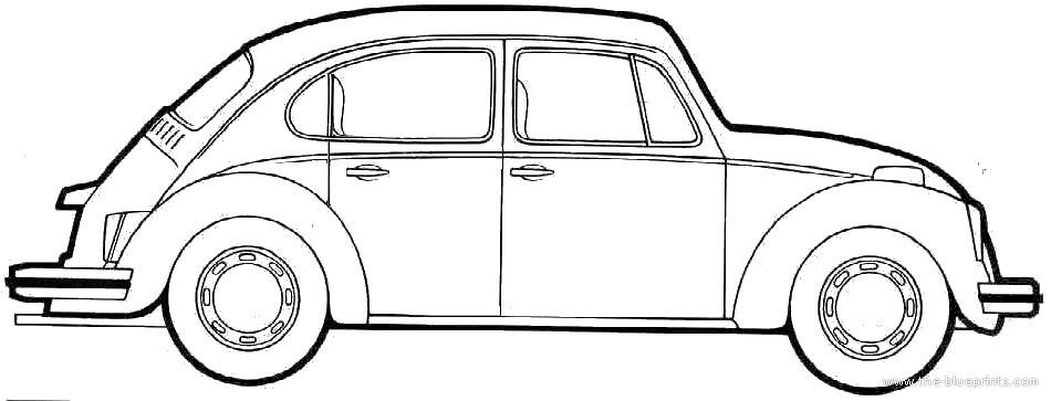 Blueprints > Cars > Volkswagen > Volkswagen Beetle 5 door