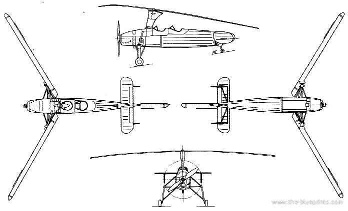 Blueprints > Helicopters > Helicopters H-M > Kayaba Ka-Go